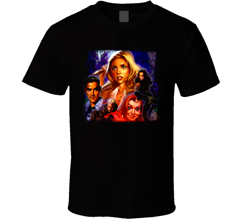 Buffy Anime T Shirt