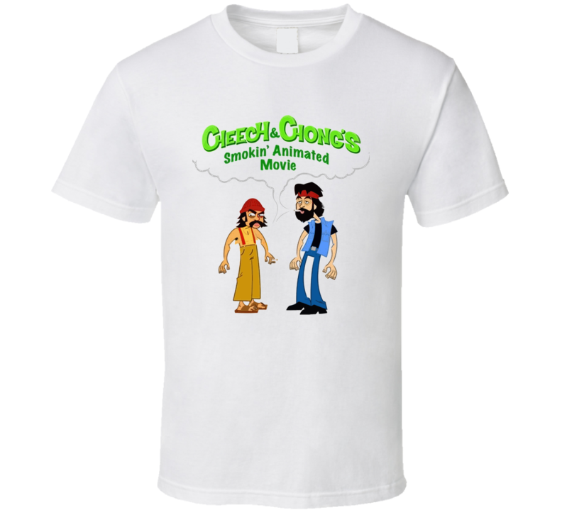 Cheech And Chong Cartoon T Shirt