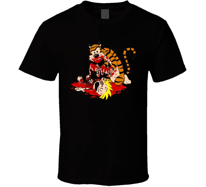 Calvin Hobbes Revenge T Shirt