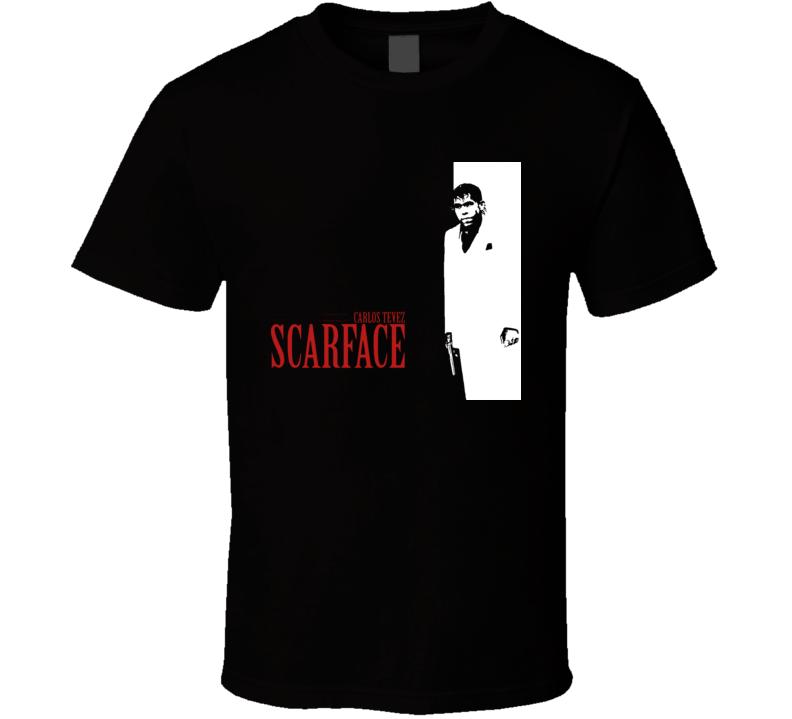Carlos Tevez Scarface T Shirt