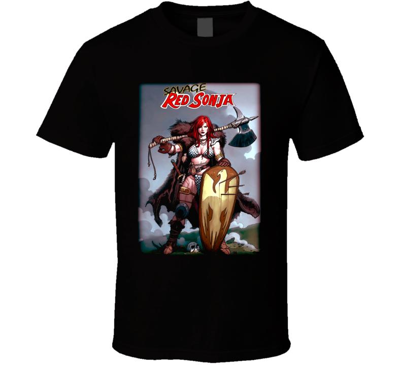 Red Sonja T Shirt