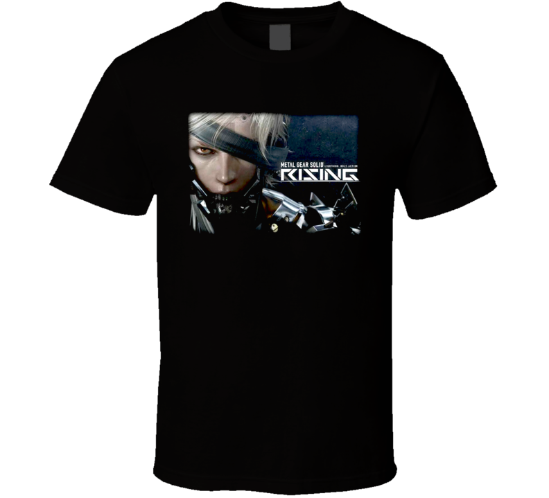 Metal Gear Solid Raiden videogame t shirt
