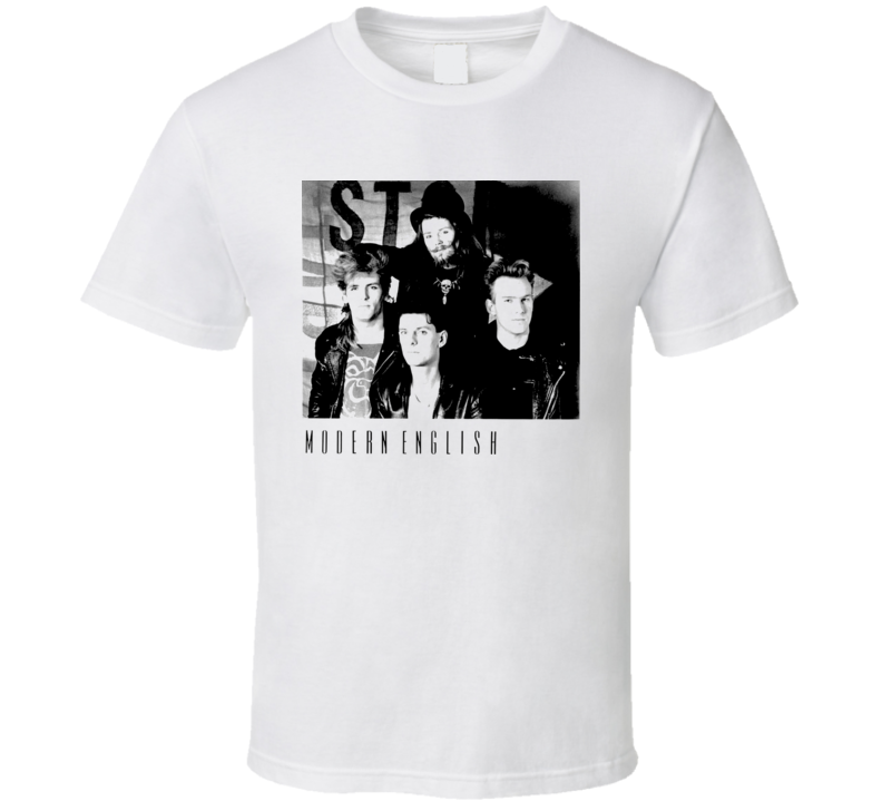 Modern English T Shirt