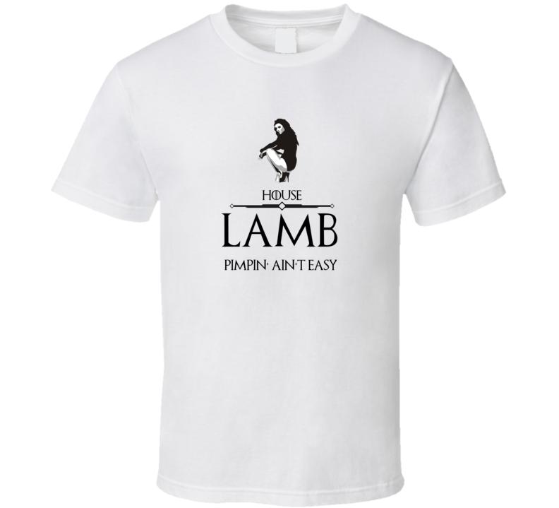 Game Of Thrones Pimp Sigil House Lamb Cult Classic Tv Show T Shirt