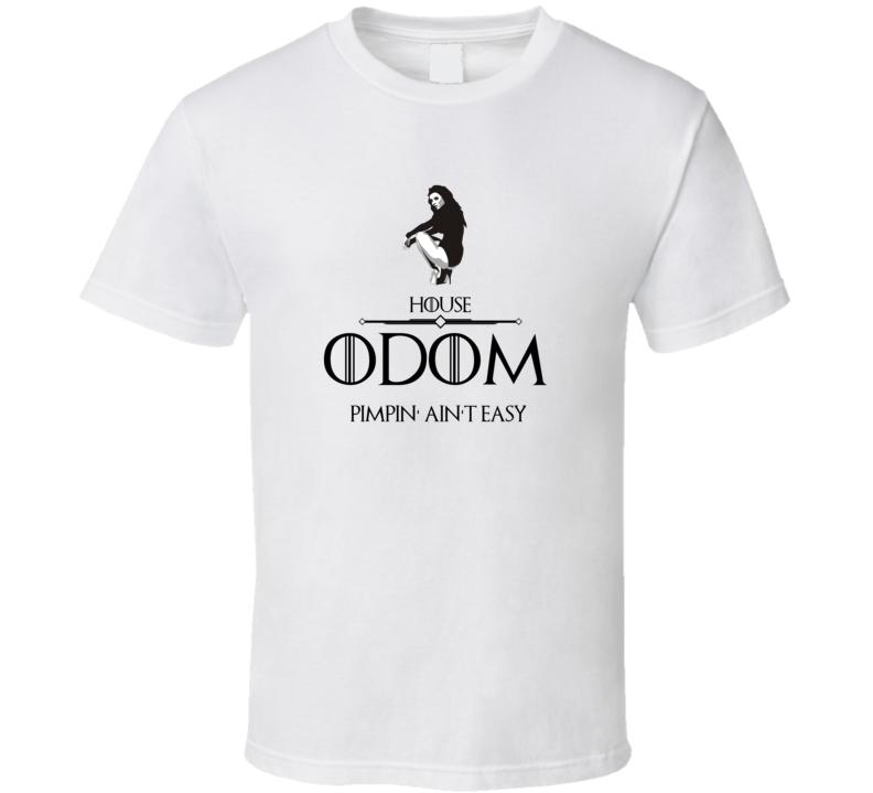 Game Of Thrones Pimp Sigil House Odom Cult Classic Tv Show T Shirt