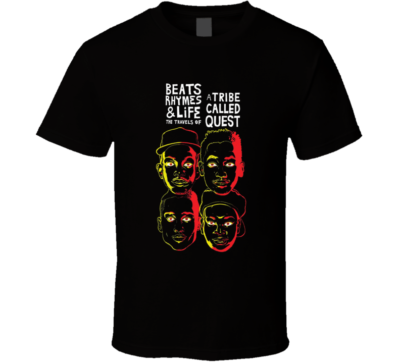 A Tribe Called Quest Beats Rhymes and Life Rap Music Tshirt