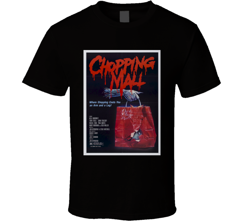 Chopping Mall 80s Cult Classic Horror Movie Tshirt