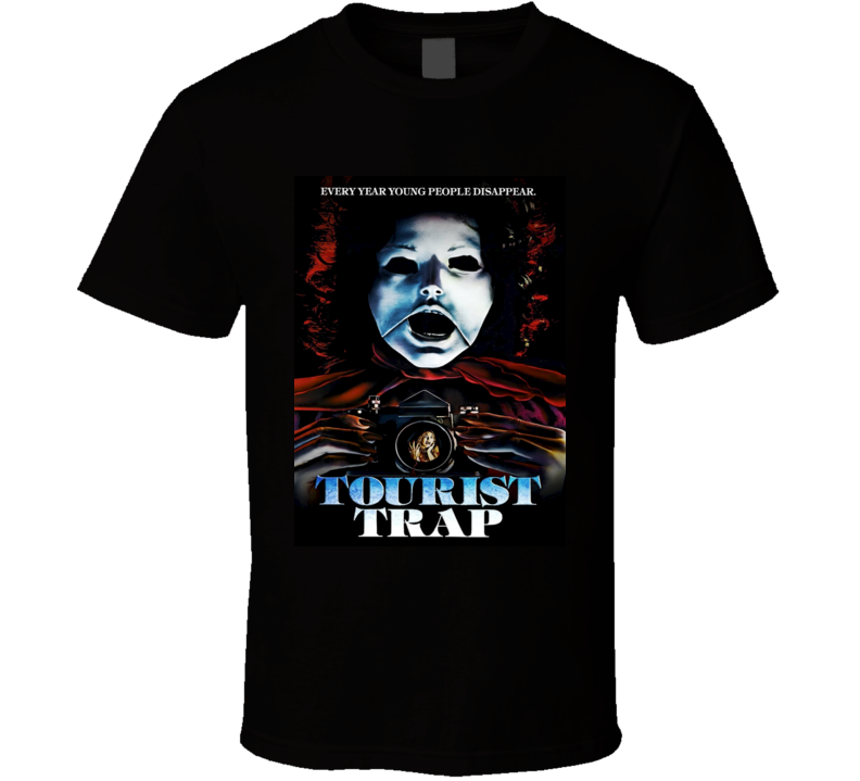 Tourist Trap 70s Cult Classic Horror Movie T shirt