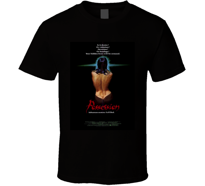 Possession 80s Cult Horror Movie T shirt