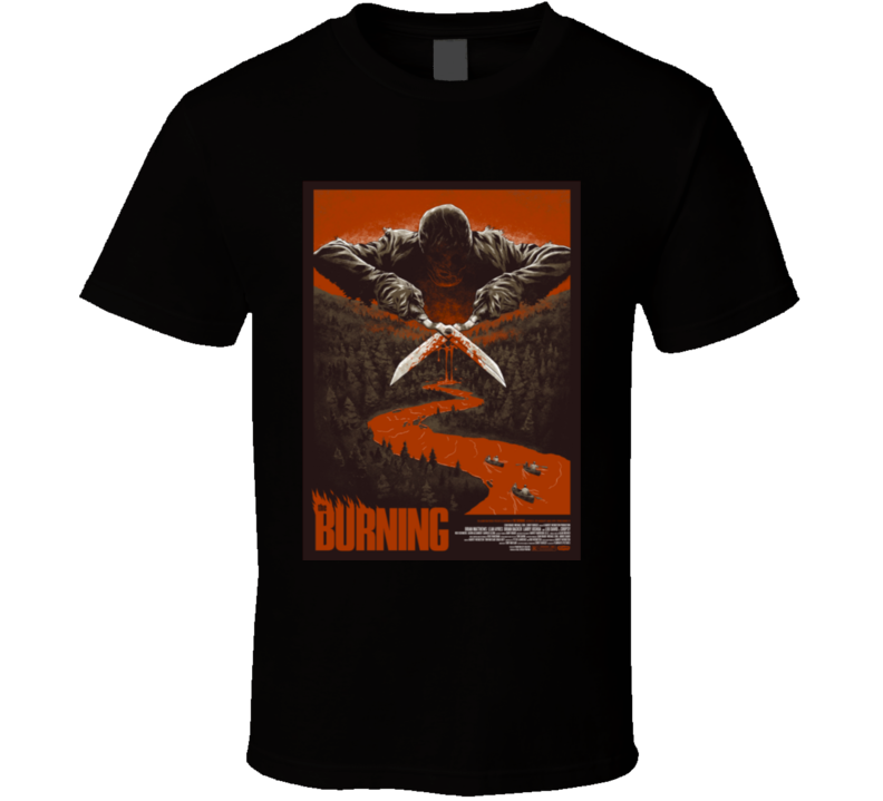 The Burning Cult Horror Movie T shirt