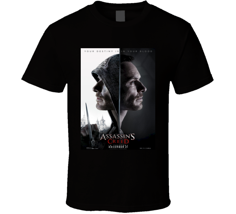Assassin's Creed Classic Video Game Movie T shirt