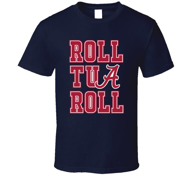 Alabama Roll Tua Roll College Football Sports T shirt
