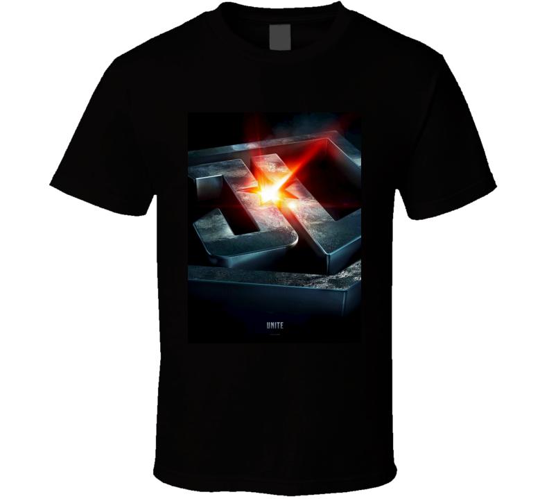 Justice League Unite Superhero Comic Book Movie T shirt
