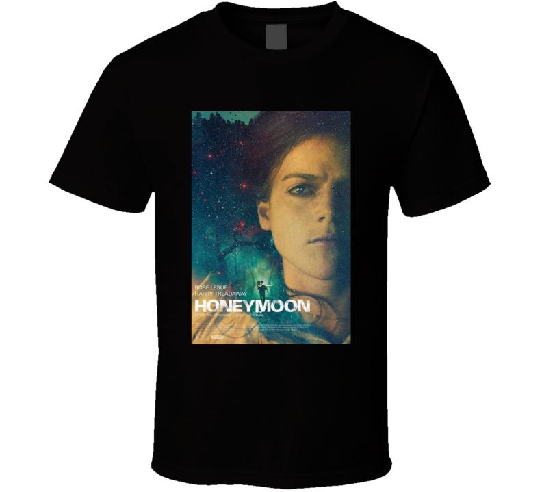Honeymoon Cool Horror Movie Poster Fan T Shirt
