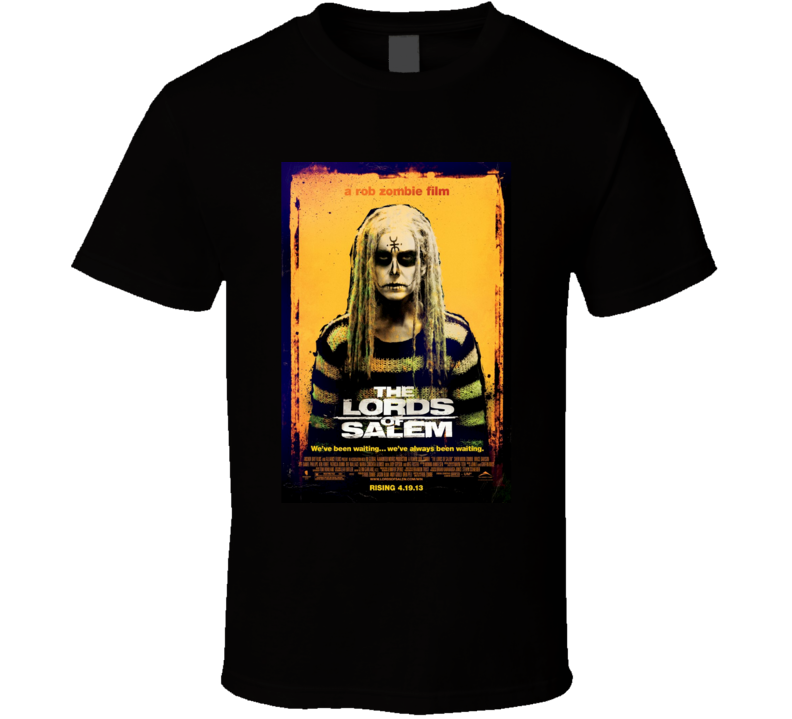 The Lords of Salem Cool Horror Movie Poster Fan T Shirt