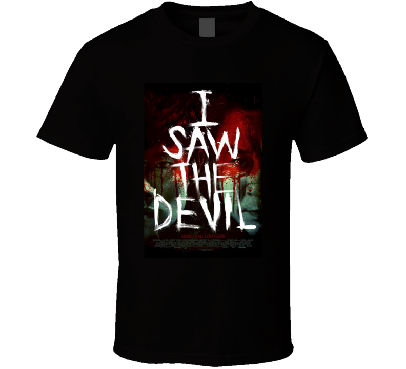I Saw The Devil Cool Horror Movie Poster Fan T Shirt
