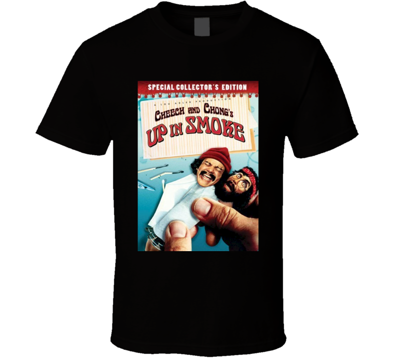 Up In Smoke Cool 70's Comedy Vintage Classic Movie Poster Fan T Shirt