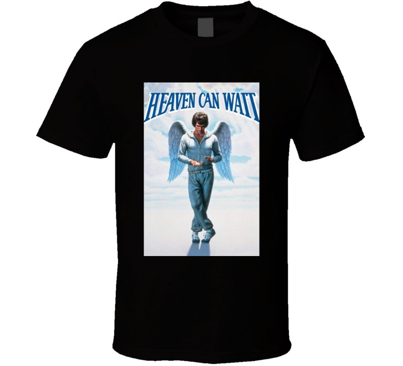 Heaven Can Wait Cool 70's Comedy Vintage Classic Movie Poster Fan T Shirt