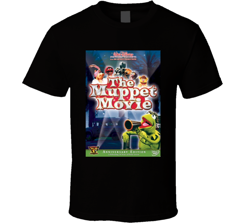 The Muppet Movie Cool 70's Comedy Vintage Classic Movie Poster Fan T Shirt