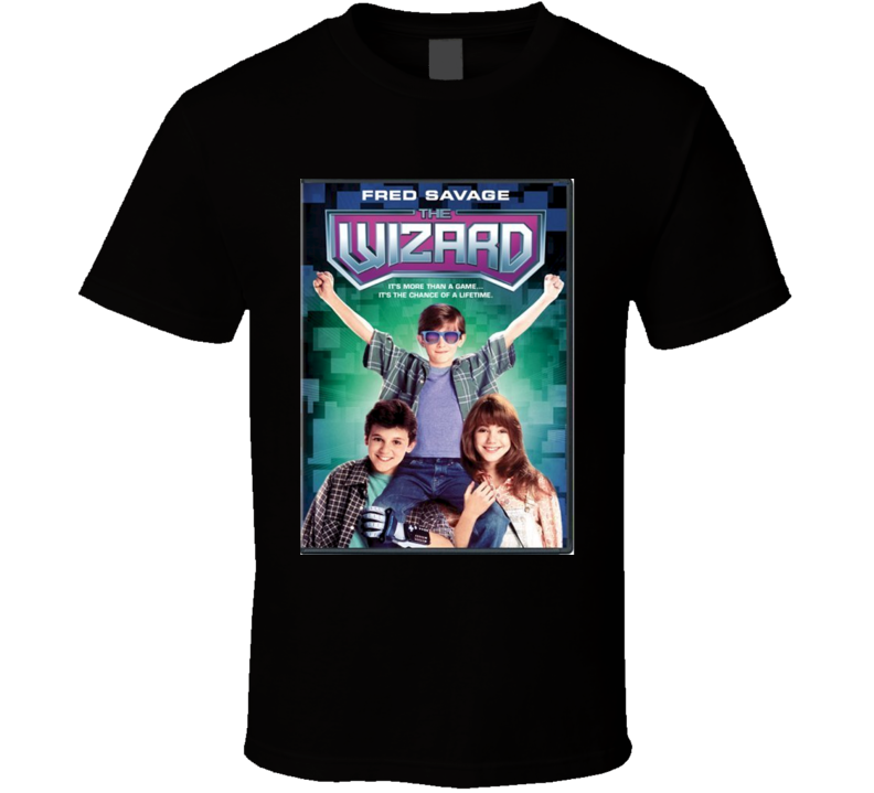 The Wizard Cool 80's Comedy Vintage Classic Movie Poster Fan T Shirt