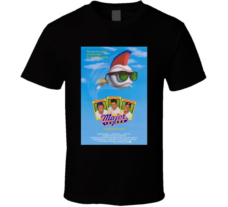 Major League Cool 80's Comedy Vintage Classic Movie Poster Fan T Shirt