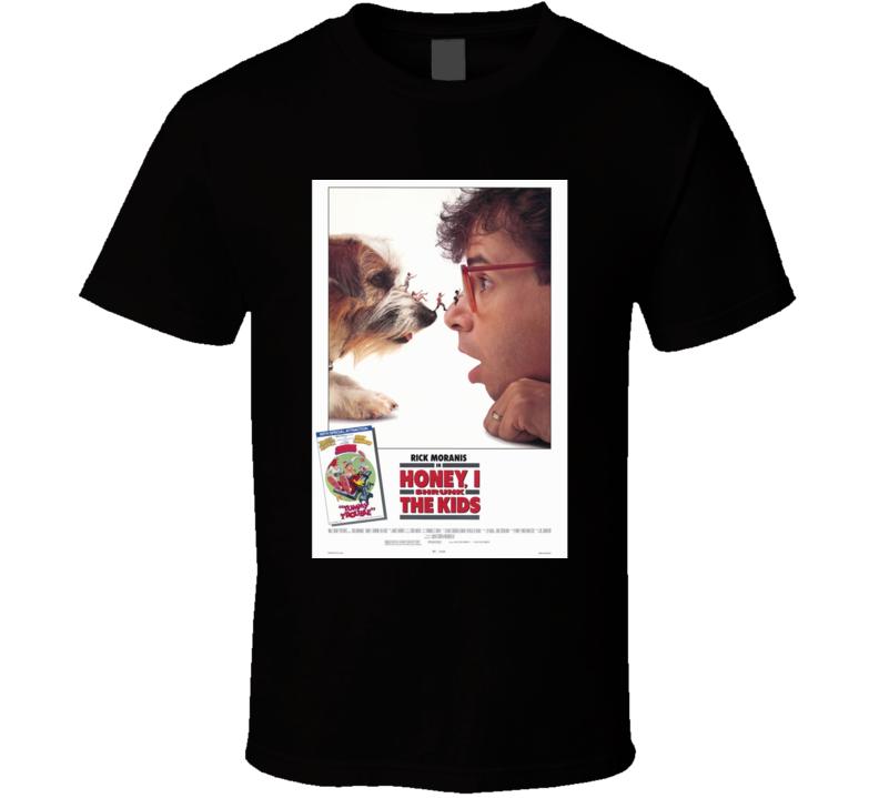 Honey I Shrank The Kids Cool 80's Comedy Vintage Classic Movie Poster Fan T Shirt