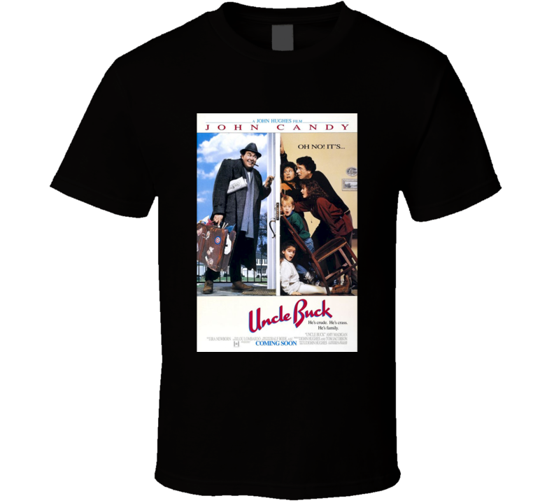 Uncle Buck Cool 80's Comedy Vintage Classic Movie Poster Fan T Shirt
