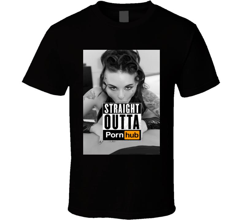 Christy Mack Straight Outta Pornhub POV Sexy Movie T shirt