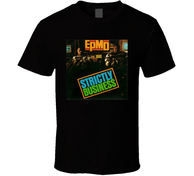 Strictly Business 80's Hip Hop Album Cool Retro T Shirt