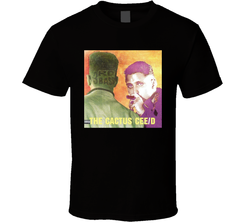 3rd Bass The Cactus Album 80's Hip Hop Album Cool Retro T Shirt