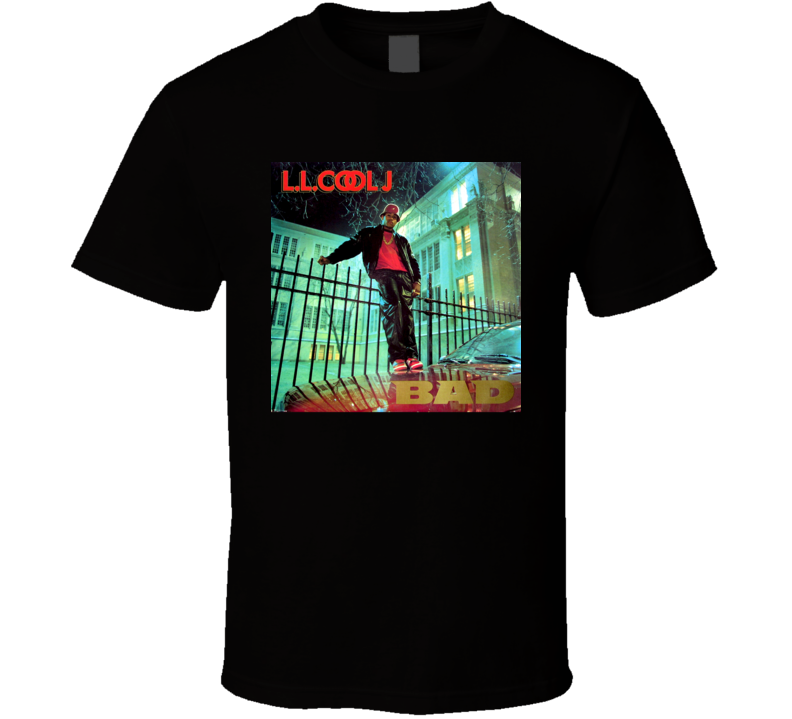 LL Cool J Bigger And Deffer 80's Hip Hop Album Cool Retro T Shirt
