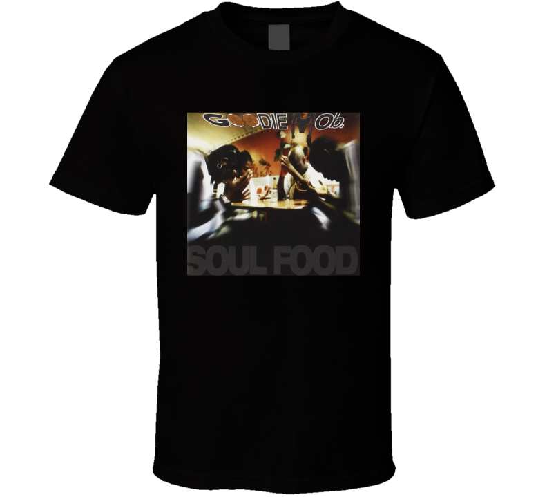 Goodie Mob Soul Food 90's Hip Hop Album Cool Retro T Shirt