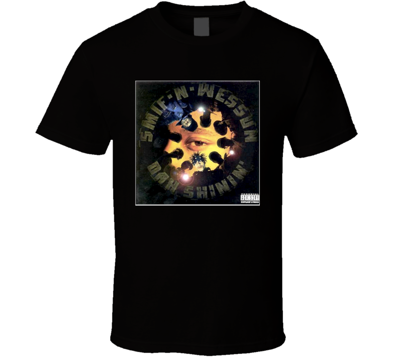 Smif N Wessun Dah Shinin' 90's Hip Hop Album Cool Retro T Shirt