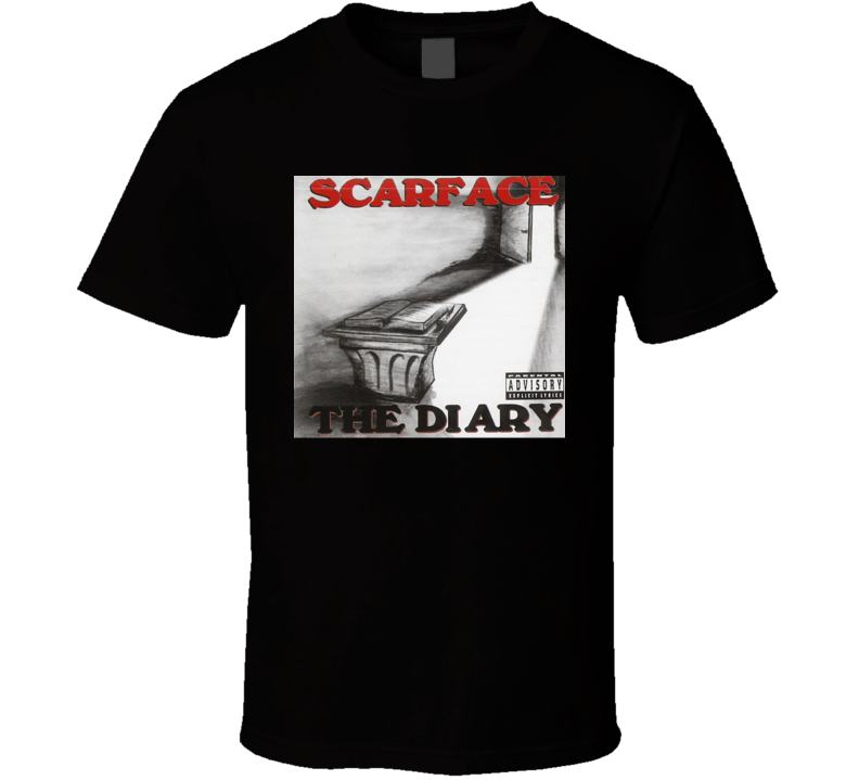 Scarface The Diary 90's Hip Hop Album Cool Retro T Shirt