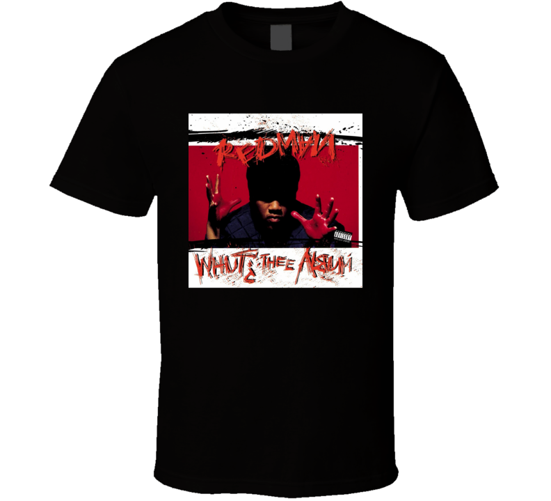 Redman Whut Thee Album 90's Hip Hop Album Cool Retro T Shirt