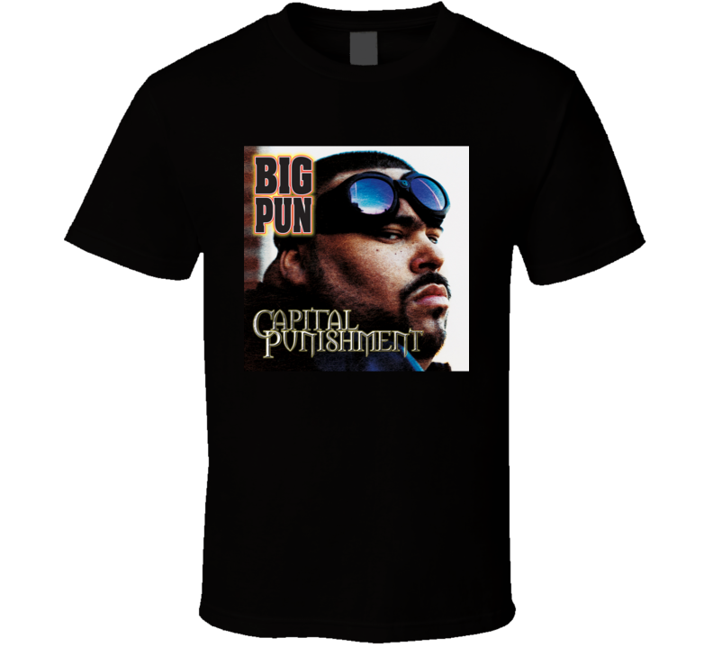Big Pun Capital Punishment 90's Hip Hop Album Cool Retro T Shirt