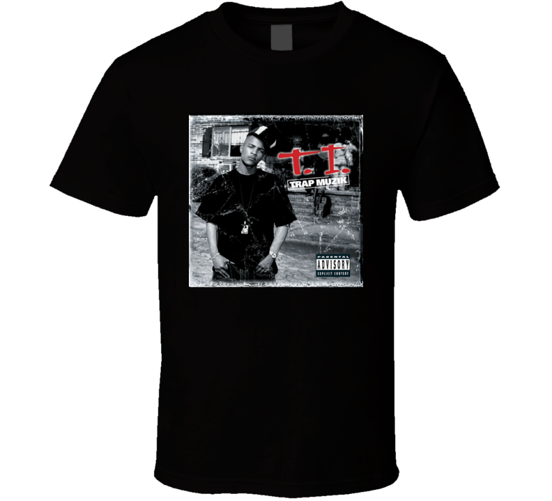 TI Trap Muzik 21st Century Hip Hop Album Cool Retro T Shirt