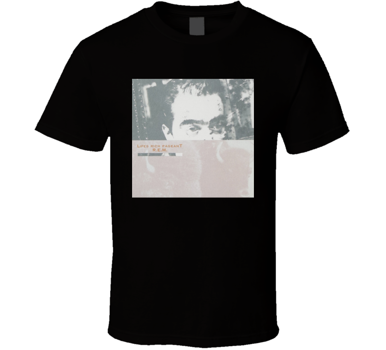 REM Lifes Rich Pageant Vintage 80's Rock Album Cool Classic  Fan T Shirt