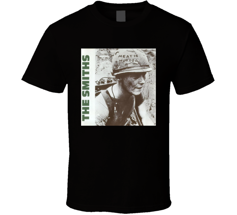 The Smiths Meat Is Murder Vintage 80's Rock Album Cool Classic  Fan T Shirt