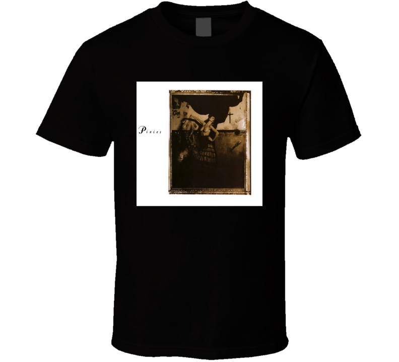 Pixies Surfer Rosa Vintage 80's Rock Album Cool Classic  Fan T Shirt