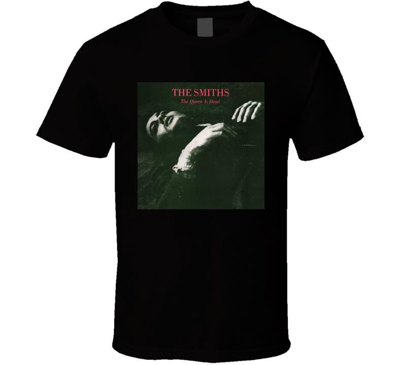 The Smiths The Queen Is Dead Vintage 80's Rock Album Cool Classic  Fan T Shirt