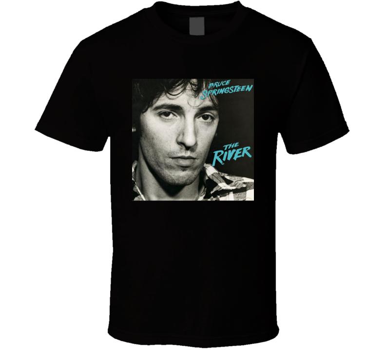 Bruce Springsteen The River Vintage 80's Rock Album Cool Classic  Fan T Shirt