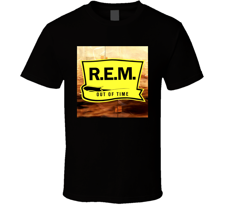 REM Out Of Time 90's Rock Album Cool Classic  Fan T Shirt