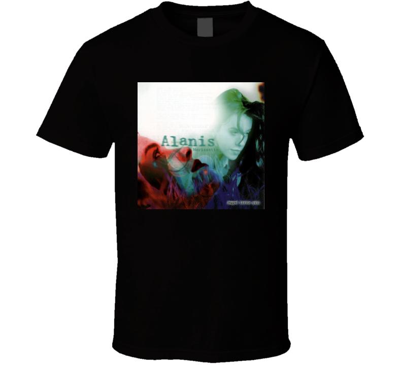 Alanis Morissette Jagged Little Pill 90's Rock Album Cool Classic  Fan T Shirt