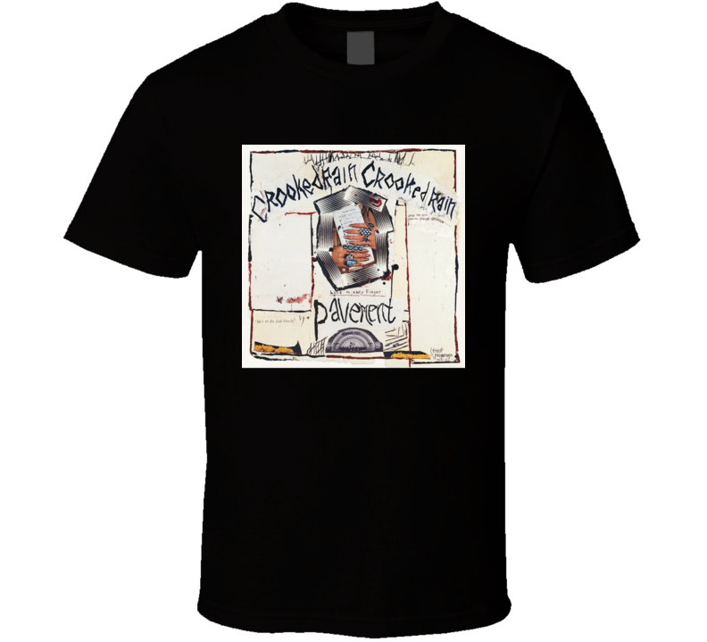 Pavement Crooked Rain Crooked Rain 90's Rock Album Cool Classic  Fan T Shirt