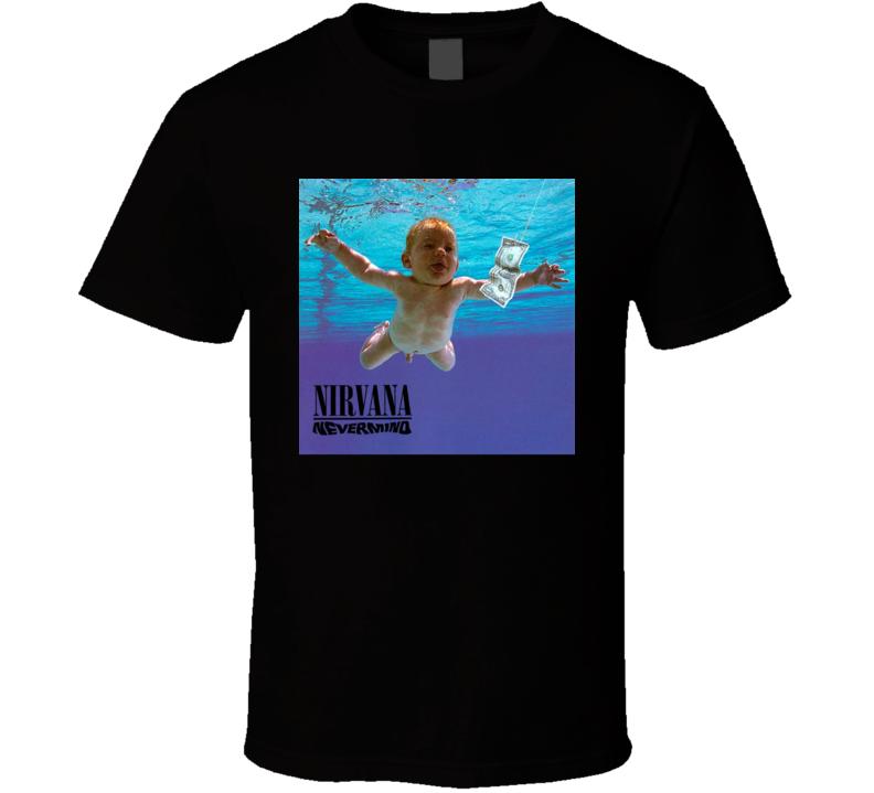 Nirvana Nevermind 90's Rock Album Cool Classic  Fan T Shirt