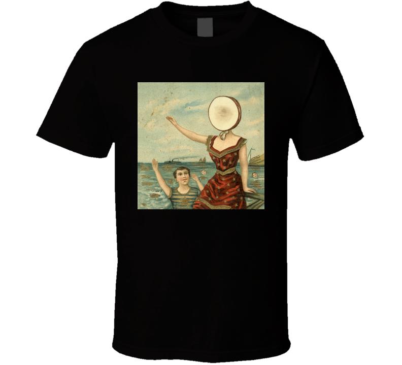 Neutral Milk Hotel In The Aeroplane Over The Sea 90's Rock Album Cool Classic  Fan T Shirt