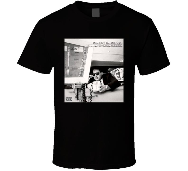 Beastie Boys Ill Communication 90's Rock Album Cool Classic  Fan T Shirt