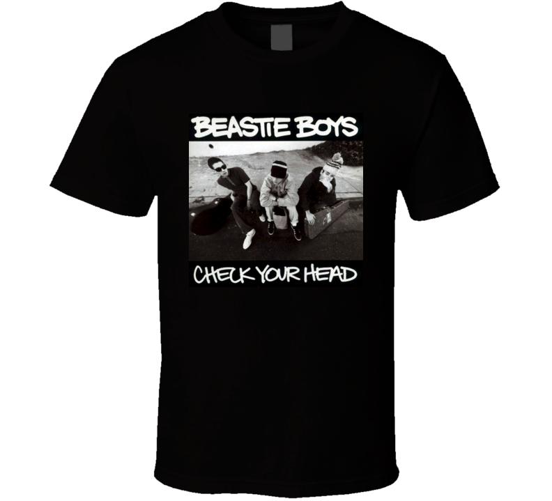 Beastie Boys Check Your Head 90's Rock Album Cool Classic  Fan T Shirt