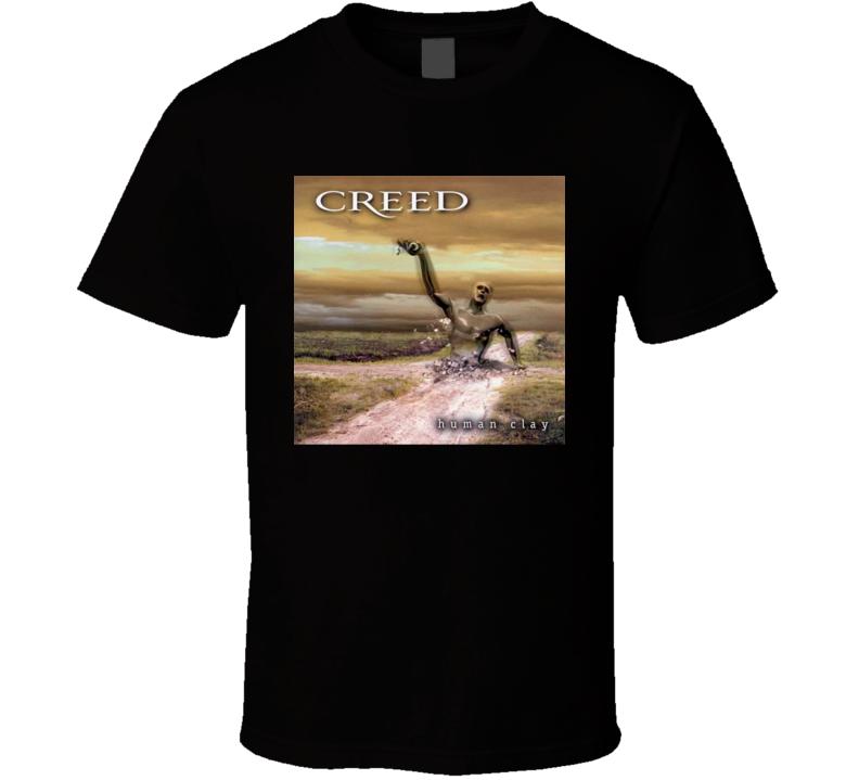 Creed Human Clay 90's Rock Album Cool Classic  Fan T Shirt